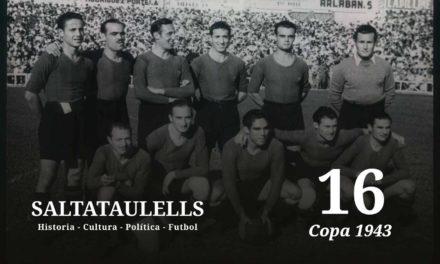 LA COPA DE 1943. EL 11-1. LA NOTA DEL BARCELONA DEL MIÉRCOLES 16 DE JUNIO DE 1943.