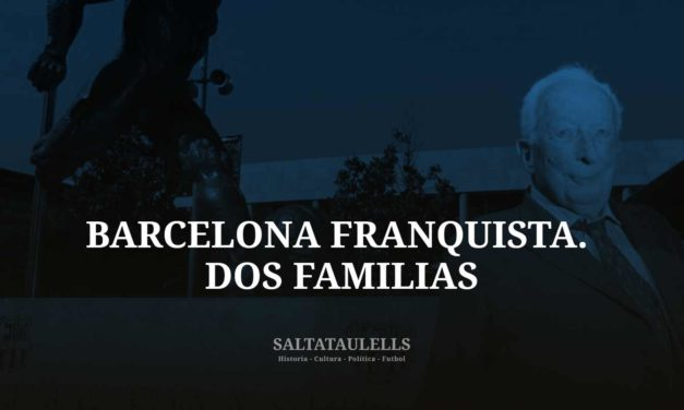 EL BARCELONISMO DIRECTIVO EN LA BARCELONA FRANQUISTA. LAS FAMILIAS AMAT MURTRA Y AMAT CURTO.