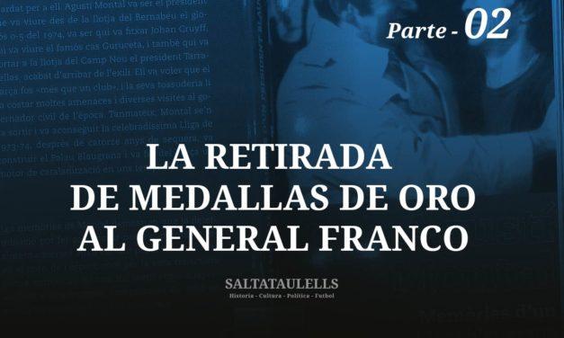 """LA RETIRADA DE MEDALLAS AL GENERAL FRANCO. RECUERDOS DEL """"VALIENTE"""" PRESIDENTE AGUSTÍN MONTAL COSTA Y TAMBIÉN SOBRE SU LEGITIMIDAD A LA LLEGADA A LA PRESIDENCIA.-Parte 2"""