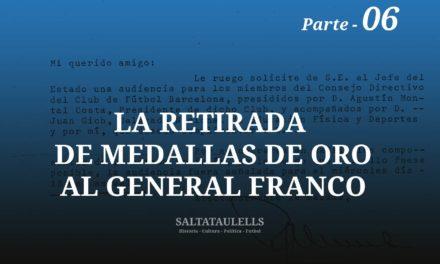 LA RETIRADA DE MEDALLAS AL GENERAL FRANCO AUDIENCIA EN EL PARDO EL DIA 13/10/1971. -Parte 6