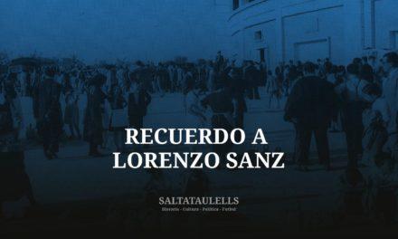 MODESTO HOMENAJE AL PRESIDENTE DE LA SÉPTIMA, LORENZO SANZ MANCEBO Y A SU ABUELA.