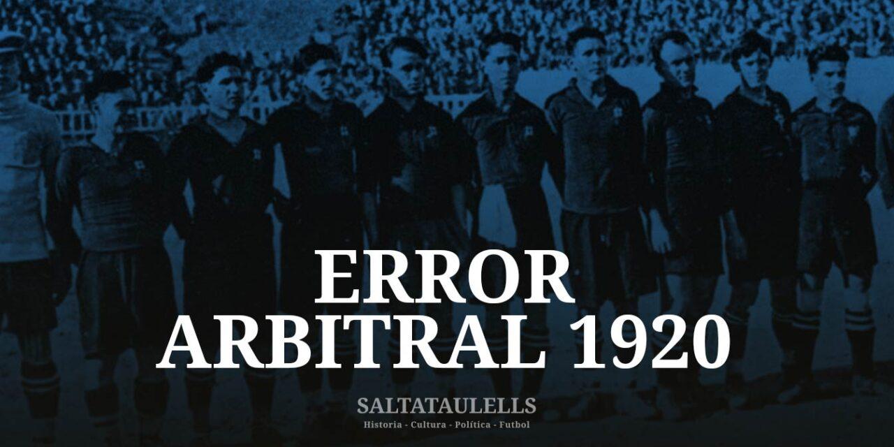 Error Arbitral 1920