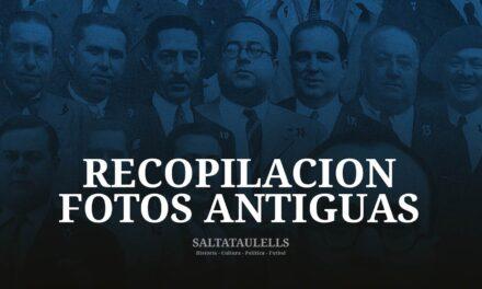 """DESCANSANDO DE LOS """"SALTATAULELLS"""". TRABAJO SOBRE RECOPILACIÓN FOTOS ANTIGUAS."""