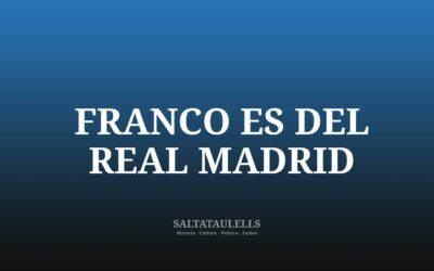 ESTE BLOG ADMITE QUE FRANCO ES DEL REAL MADRID