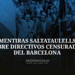 """ESTUDIO DE UN EJEMPLO DEL MODO DE MENTIR Y MANIPULAR POR LOS """"SALTATAULELLS"""", XAVIER G. LUQUE (EN ESTE BLOG, X. GARCÍA L.) Y JORDI FINESTRES."""