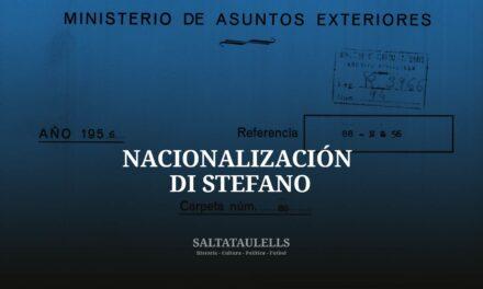 NACIONALIZACIÓN DI STEFANO